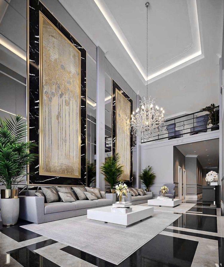 การแต่งบ้านสไตล์ luxury
