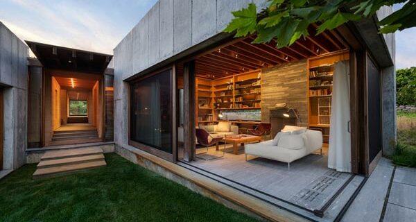 beautiful corner house