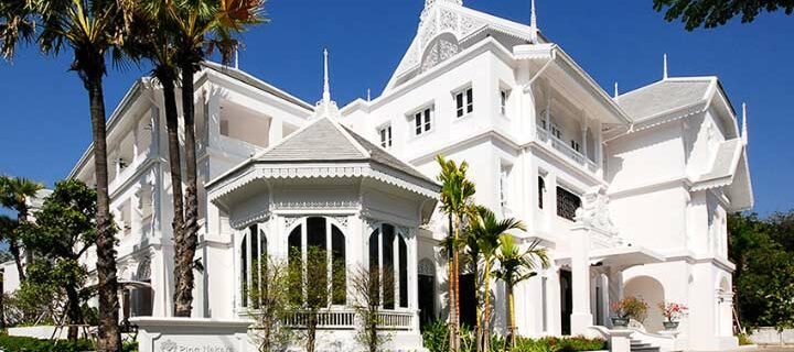 Stylish colonial style house