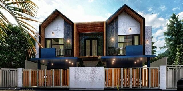 Cozy style house, beautiful design, good looking.